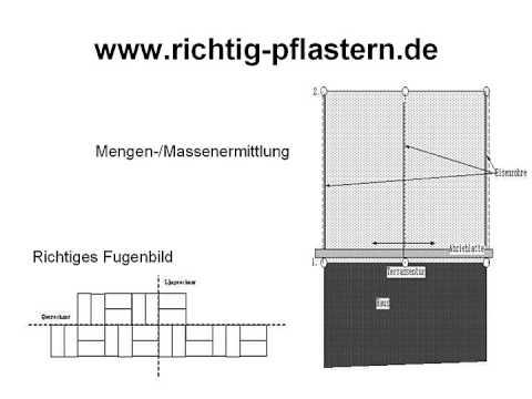 gartenwege und terrassen richtig pflastern mit dieser anleitung youtube. Black Bedroom Furniture Sets. Home Design Ideas