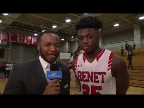 Kendrick Tchoua, Benet Academy Basketball - CN100 Player of the Game