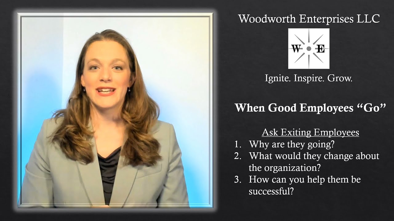 """What to do When Good Employees """"Go"""""""