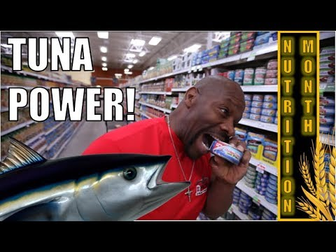 EAT MORE TUNA! TO LEAN DOWN and PUT ON MUSCLE FASTER | Protein Source + Essential Fatty Acids (EFA)