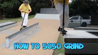 SAUNDEZY TEACHES YOU HOW TO 5050