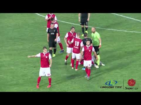 Linglong Tire Super Liga 2019/20 - 4.Kolo: NAPREDAK – PARTIZAN 2:2 (2:1)