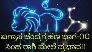 ಖಗ್ರಾಸ ಚಂದ್ರಗ್ರಹಣ ಜುಲೈ-೨೮-೨೦೧೮ ಭಾಗ-೧೦