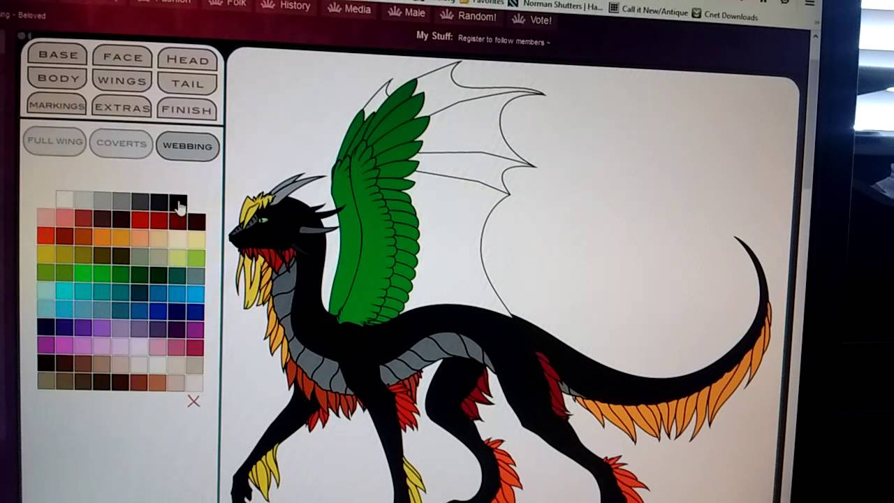 How to build a badass dragon//: Dragon Creator 2 0