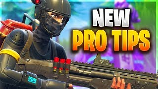 NEW PRO TIPS TO ALWAYS HAVE THE ADVANTAGE! (Fortnite Battle Royale)