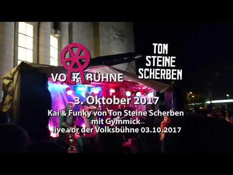 Ton Steine Scherben live vor der Berliner Volksbühne 2017