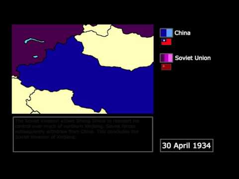 [Wars] The Soviet Invasion of Xinjiang (1934): Every Week