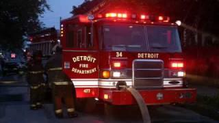 Detroit (MI) Fireground Audio