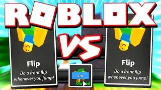 FLIP PERK VS FLIP PERK - ROBLOX ASSASSIN