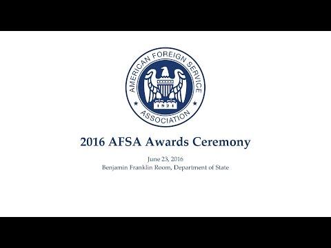 2016 AFSA Awards Ceremony