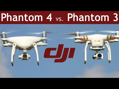 DJI Phantom 4 vs Phantom 3 | Which is the better drone? | COMPARISON