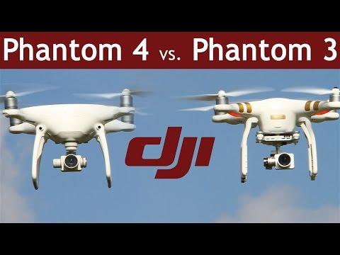 DJI Phantom 4 vs Phantom 3 | Which is the better drone? | COMPARISON