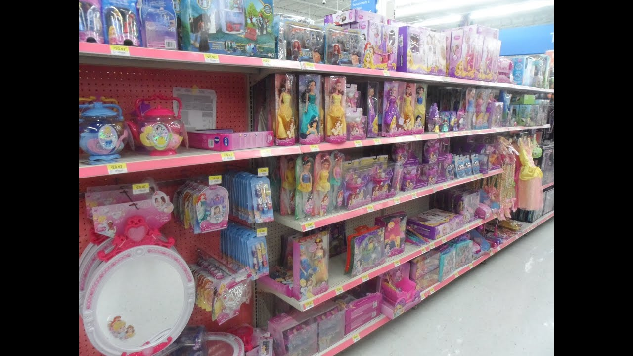 Toys For Walmart : Shopping for barbie disney princess dolls bratz in the