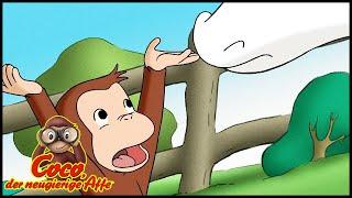 Coco der Neugierige 🐵124 Für Kühe Verboten🐵 Ganze Folgen 🐵 Cartoons für Kinder🐵 Staffel 1
