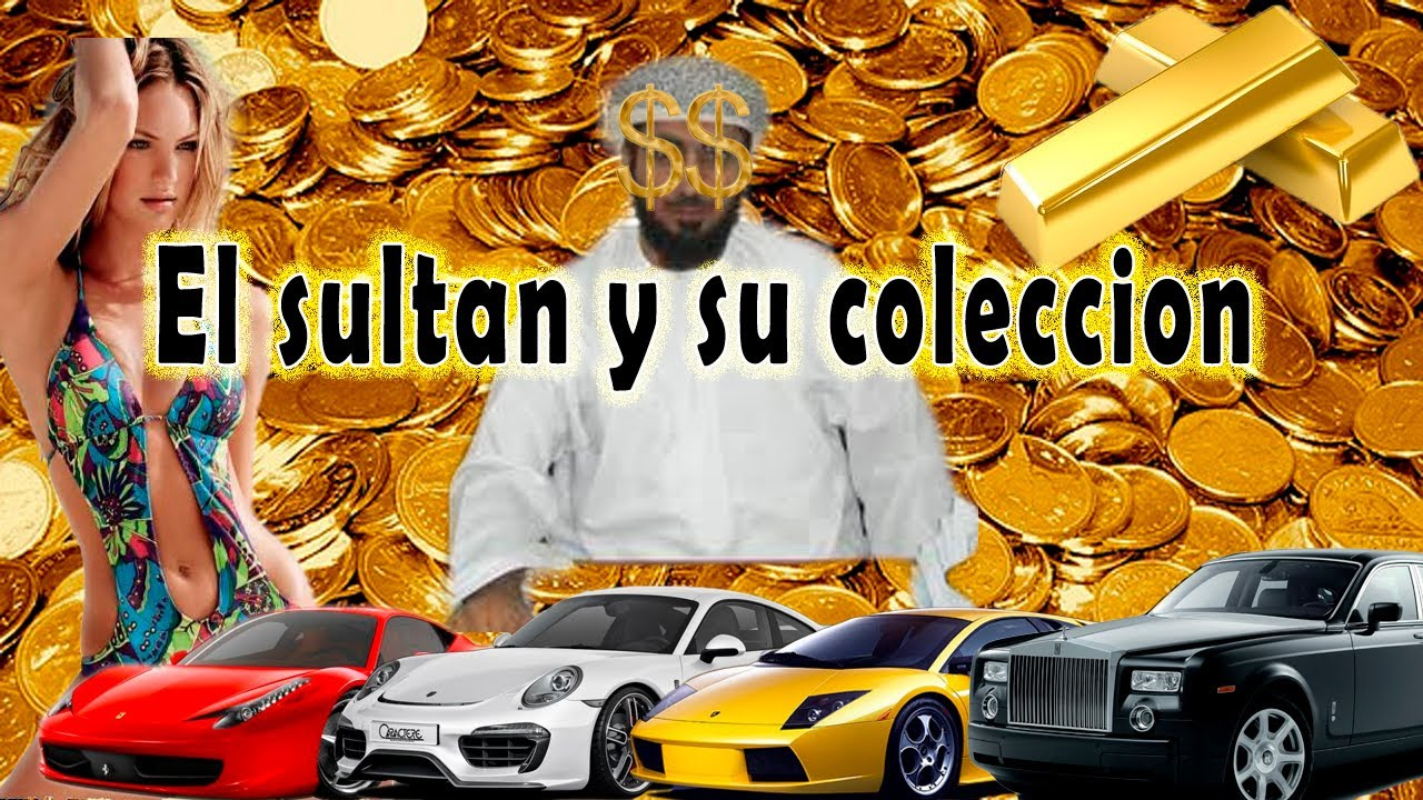 La colecci n de carros mas grande del mundo the sultan of for Coleccion cuchillos el mundo
