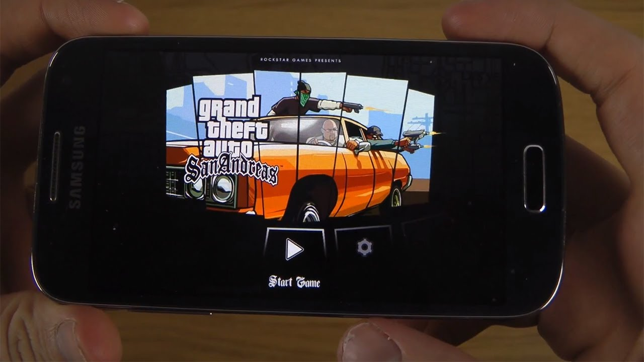 Grand Theft Auto: San Andreas Samsung Galaxy S4 Mini HD Gameplay Trailer