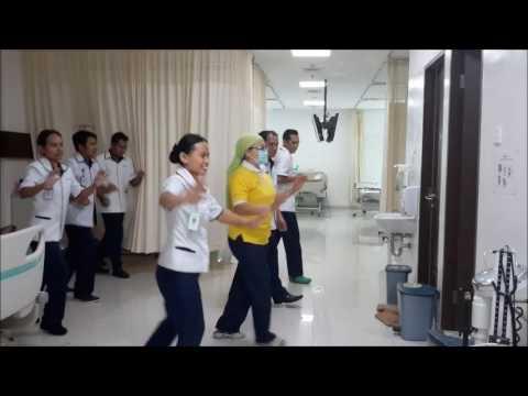 Senam Cuci Tangan Versi Naik - Turun Oles, Oleh Chemoterapy Nurse