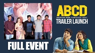 ABCD Trailer Launch Event | Allu Sirish | Rukshar Dhillon | American Born Confused Desi