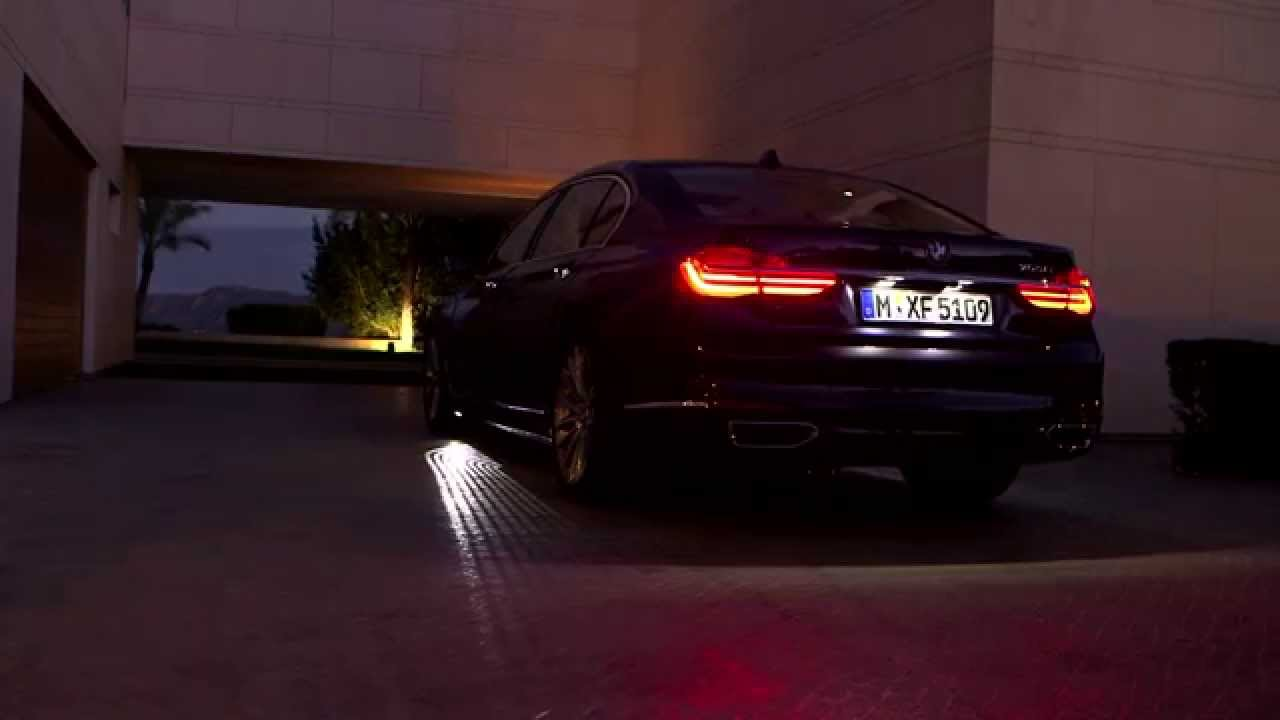 2016 Bmw 7 Series Lights Youtube