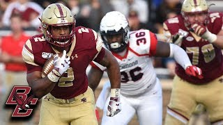 BC's AJ Dillon Highlights vs. Richmond
