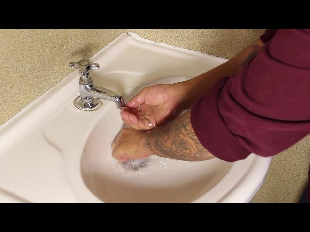 Prevención Coronavirus, lavado manos