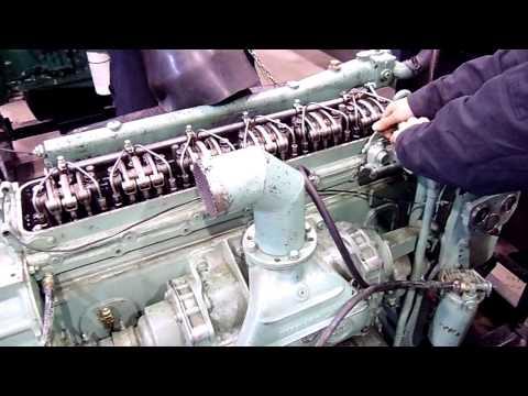 General Motors Diesel Engine 6-71 L Test