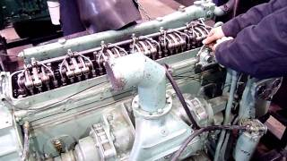 General Motors Diesel Engine 6-71 L Test