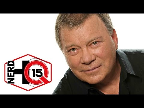 William Shatner Kills in This Interview - Nerd HQ: Comic-Con 2015 ...