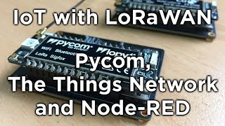 practical project using lorawan ttn lopy4 nodered raspberry pi