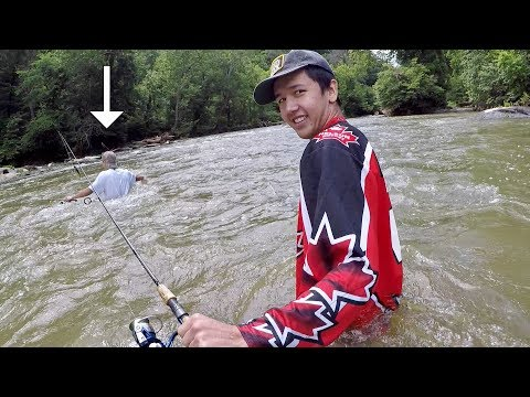 DUMB Anglers Go Fishing in a FLOODED River!!!