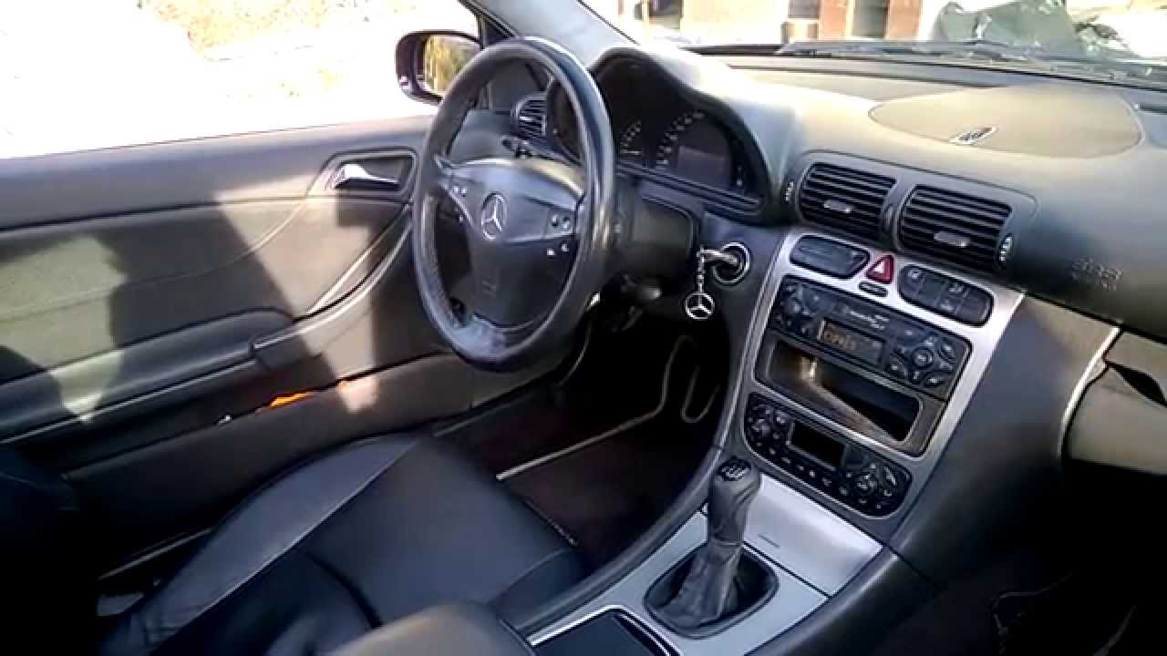 mercedes w203 sportcoupe youtube. Black Bedroom Furniture Sets. Home Design Ideas