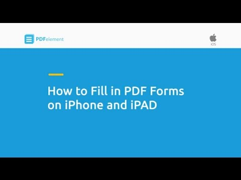 How to Fill in PDF Forms on iPhone and iPad