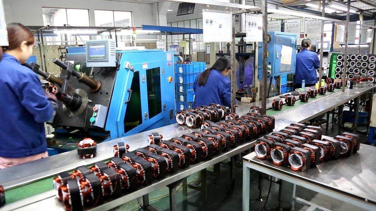 Automatic Washing Machine Motor Production Line Suzhou ...