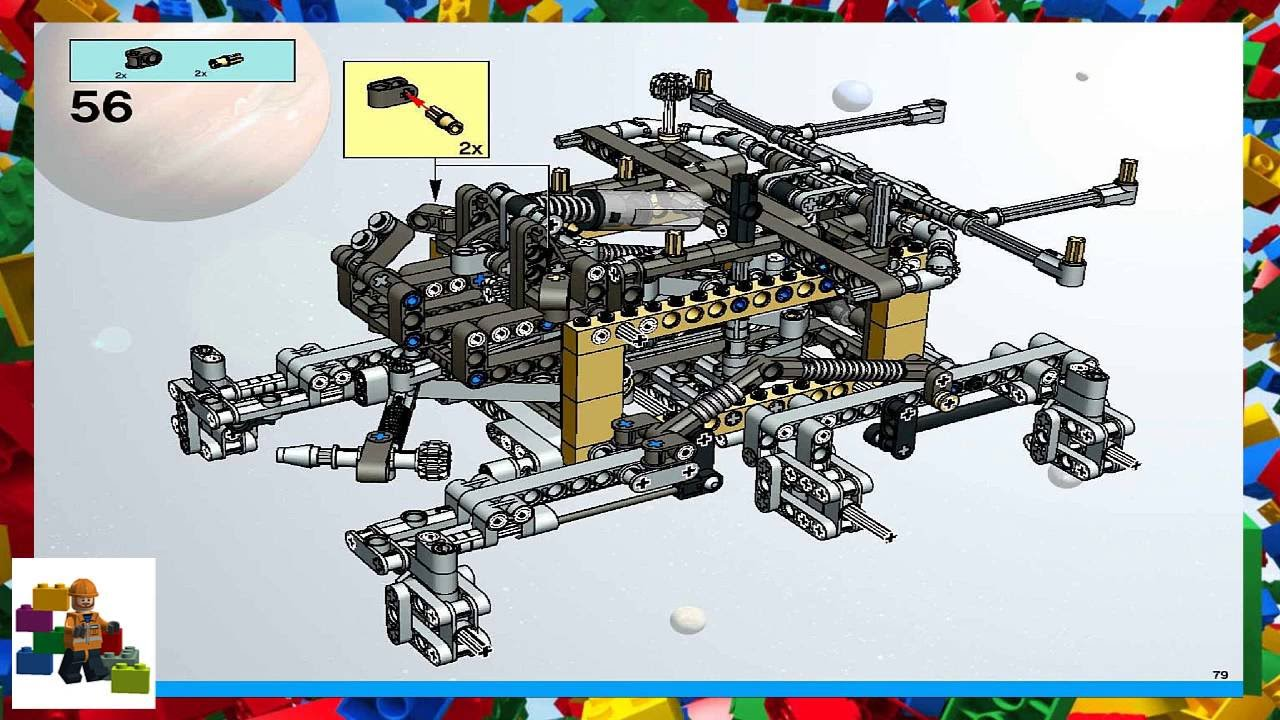 lego mars rover instructions