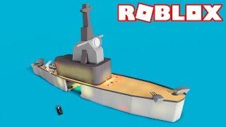 Roblox → BUILDING a BATTLESHIP! -Battleship Tycoon 🎮
