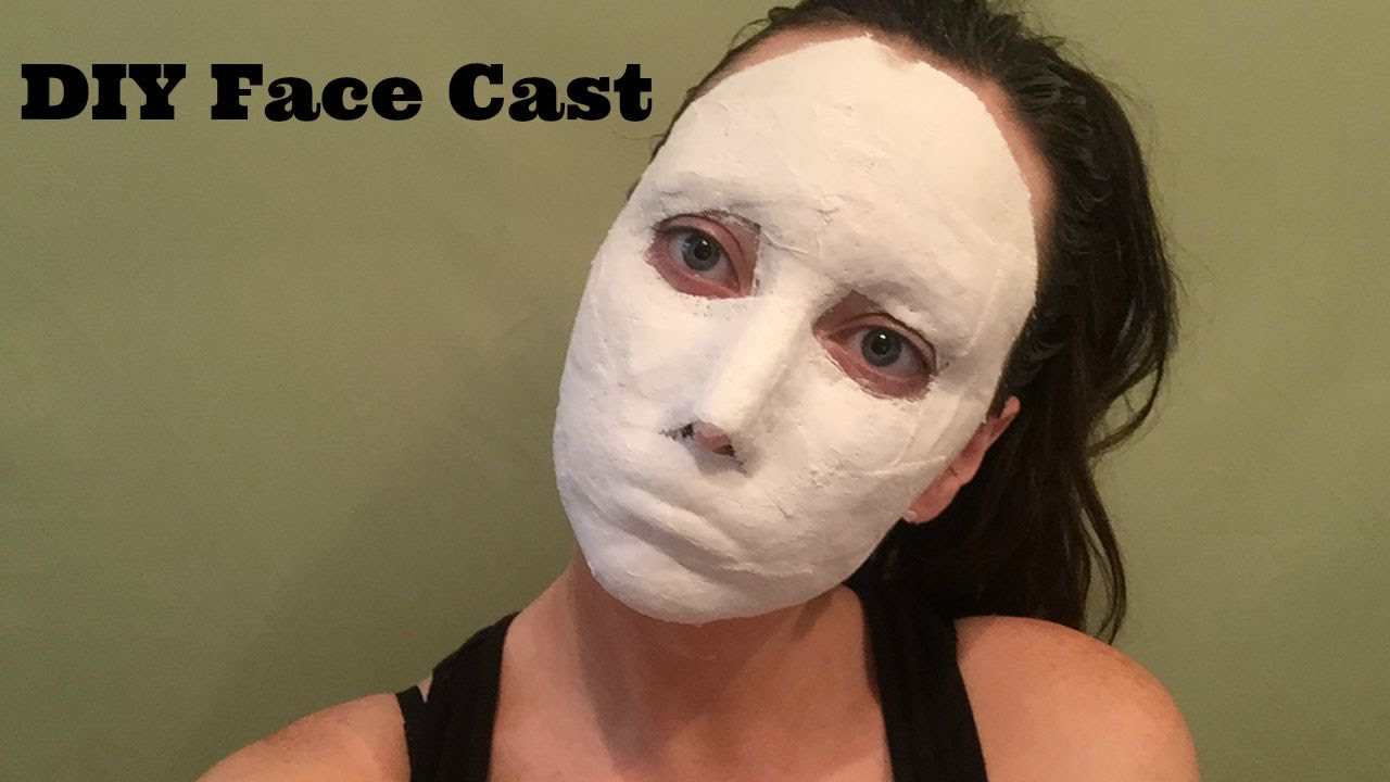 Diy Face Cast For Special Fx Makeup Youtube