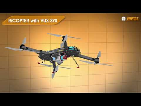 Application Examples using the RIEGL VUX-1UAV LiDAR Sensor!