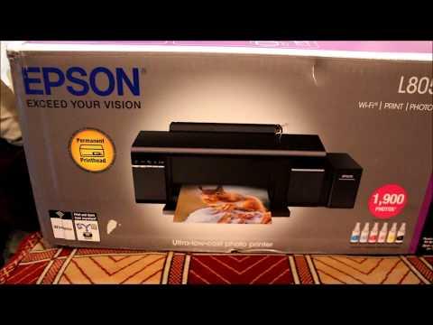 Огляд принтера Epson L805 With WI-FI з Rozetka