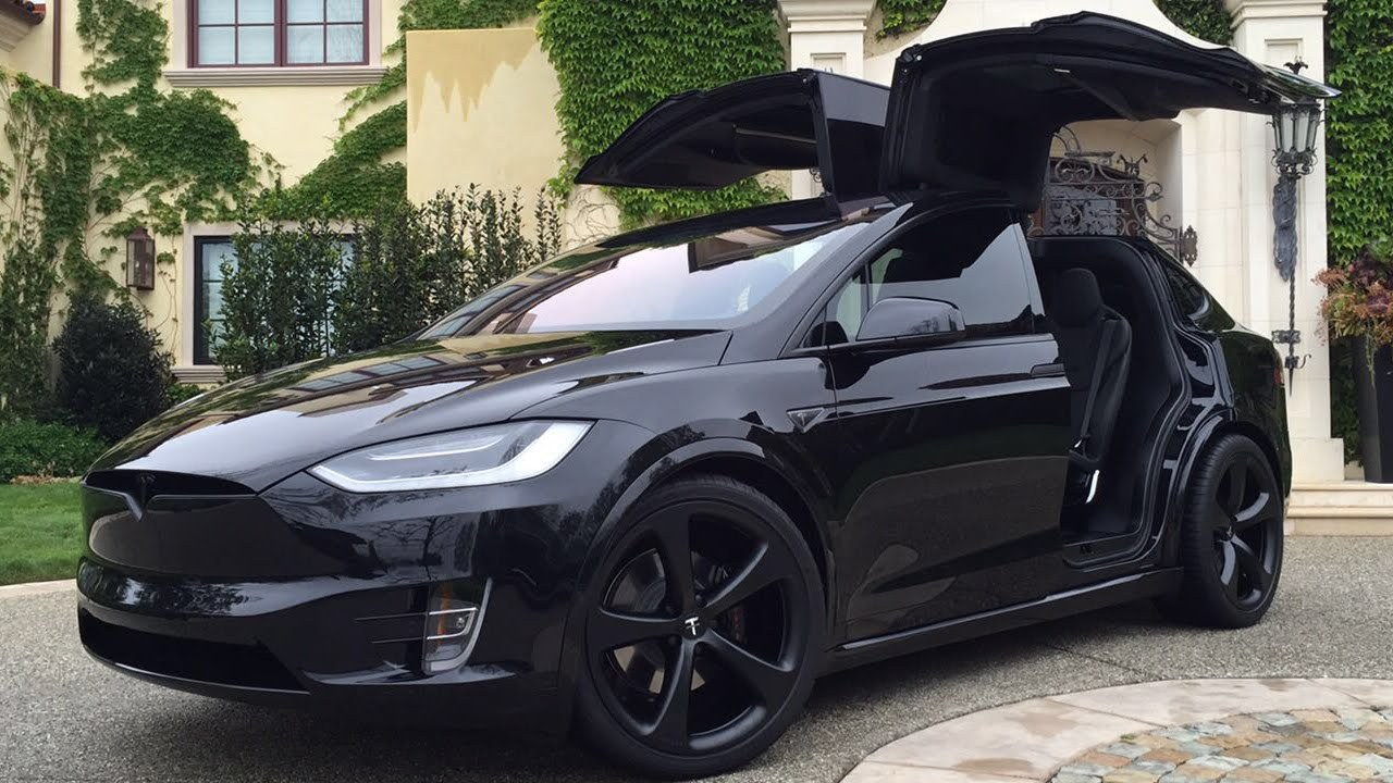 Tesla Model S Custom >> Tesla Model X Signature Edition P90D - Black Out - YouTube