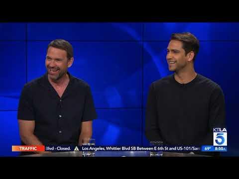 Luke Pasqualino & Dougray Scott on Filming