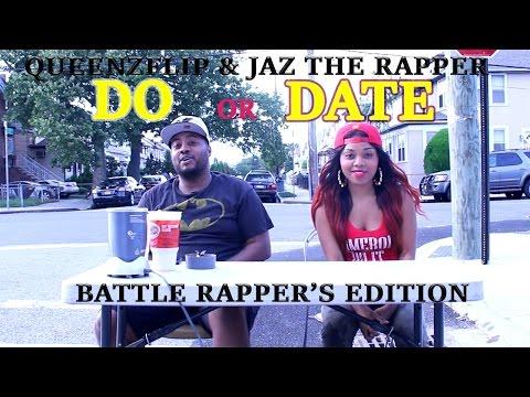 QUEENZFLIP & JAZTHERAPPER  - DATE OR DO? (BATTLE RAP EDITION) PT 1