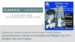 Ludwig van Beethoven : Concerto pour violon et orchestre - ClassicalExperience