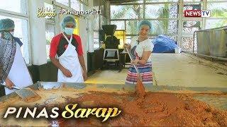 Pinas Sarap: Kara David, natutong magtapas ng tubo at gumawa ng asukal!
