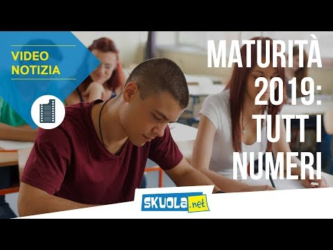 Maturità 2019, i numeri: date, commissari e punteggio