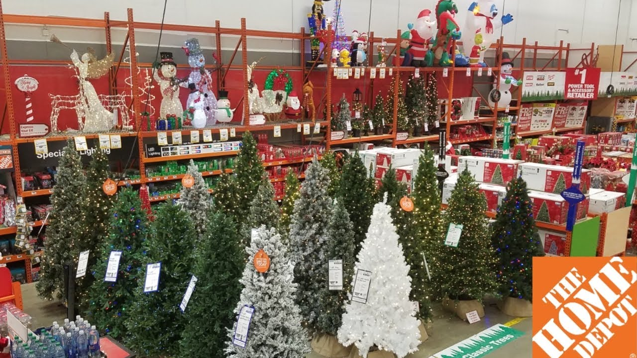 The Home Depot Christmas Decor 2018
