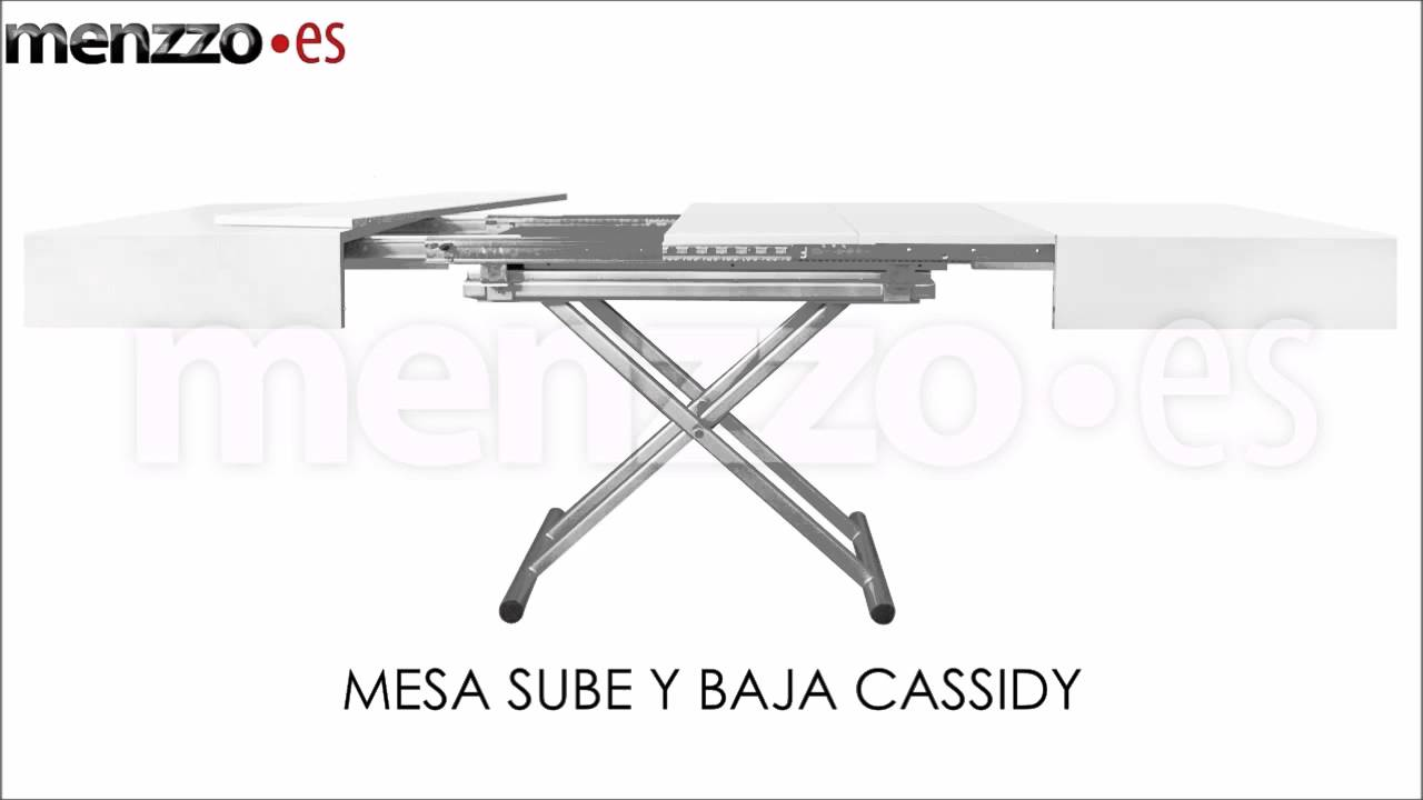 Mesa elevable cassidy youtube - Mesa extensible y elevable ...