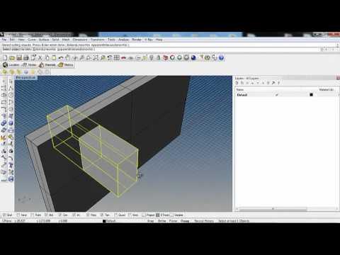 Tutorial rhinoceros creare una finestra con infisso in un attimo youtube - Creare finestra popup ...