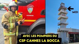 Garde avec les POMPIERS de Cannes La Bocca             SDIS 06