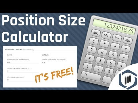 Position Size Calculator - How to Calculate Your Position Size
