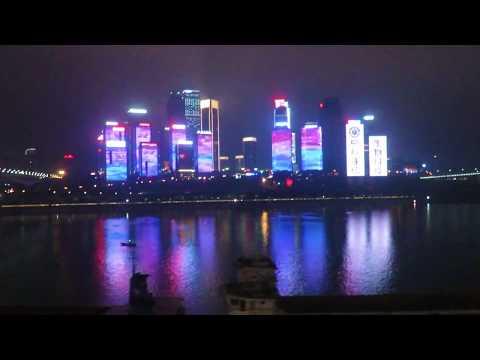 Chongqing China | Riding the Monorail Line 2 Metro